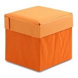 FUNIKA Cube Storage Stool [10060R1] - Orange